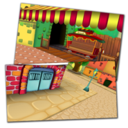 Texturing toontowncentral