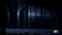 Teen Wolf Season 3 Episode 2 Sinqua Walls Boyd shadow
