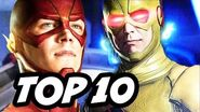 The Flash Season 2 Episode 11 Reverse Flash Returns - TOP 10 WTF and Easter Eggs