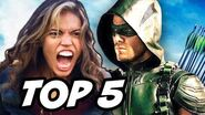 Arrow Season 4 Episode 8 The Flash Crossover - TOP 5 WTF and Easter Eggs