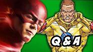 Arrow Season 3 Q&A - The Flash Villain and Time Travel