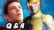 The Flash and Arrow Season 3 - Time Travel Lazarus Pit Q&A