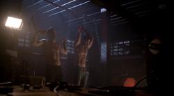 Teen Wolf Season 3 Episode 13 Anchors Derek and Peter are kept prisoners