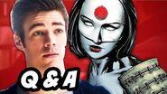 The Flash and Arrow Episode 20 Q&A - Enter Katana
