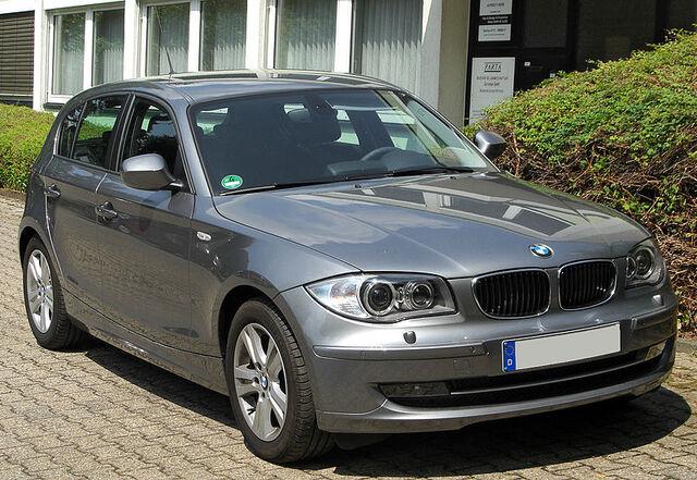 File:800px-BMW 118d (E87) Facelift front 20100711.jpg
