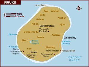 Nauru map 001