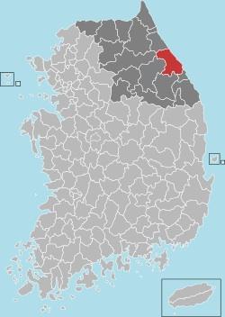 Gangneung map 001