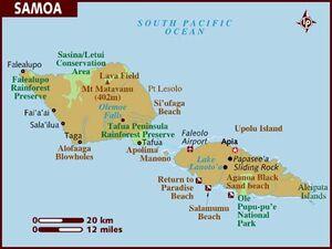 Samoa map 001
