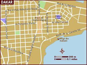 Dakar map 001