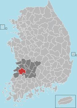Jeongeup map 001
