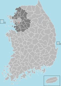 Gwacheon map 001