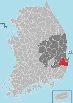 Gyeongju map 001