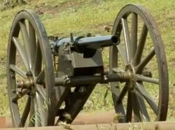 Hotchkiss mountain gun