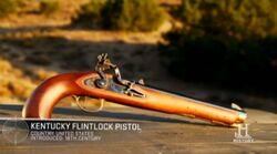 Kentucky-flintlock