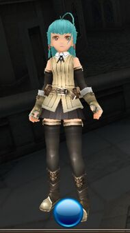 Adventurer's garb front