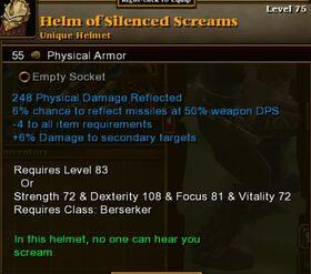 Helm Silenced Screams