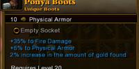 Ponya Boots