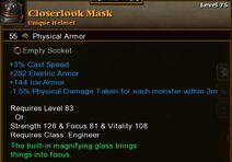 Closerlook Mask