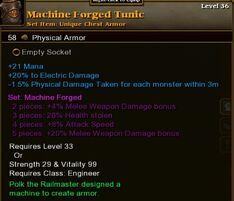 Machine Forged Tunic