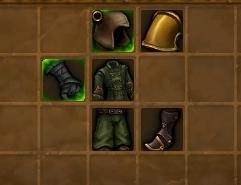 Cloth armor parts