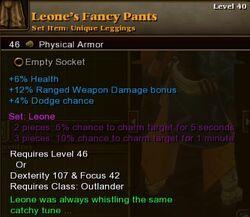 Leone's Fancy Pants