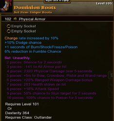 Dominion Boots