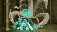 Nitro attacking Komatsu