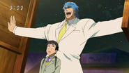 Toriko and Komatsu enter Bar Heavy Lodge
