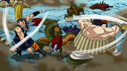 Ton and Nerimaru fight together