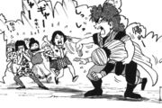 Toriko saves Coco from girls
