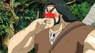 Zonge eating Komatsu's hot spice 1