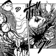 Makubee killing a beast