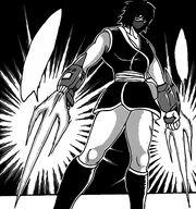 Rin using Fragrance Swords