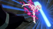 Toriko about to launch Leg Fork