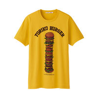 UNIQLO Yellow Toriko Graphic Short Sleeve T Shirt front