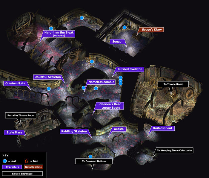 Dead nations map