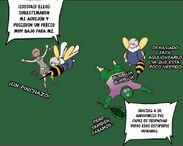 Vespa derrota