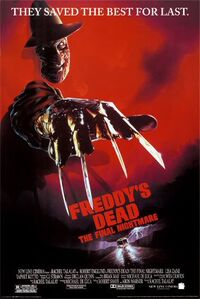 Freddy's Dead The Final Nightmare poster