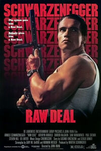 Raw Deal (1986) poster