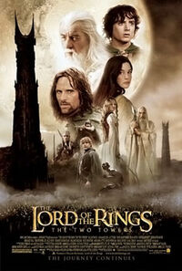 The Lord of the Rings The Two Towers poster