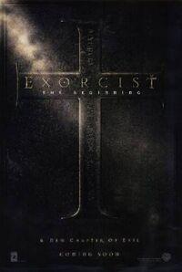 Exorcist The Beginning poster