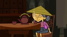 China elderly woman