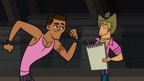 Geoff Drawing Brody