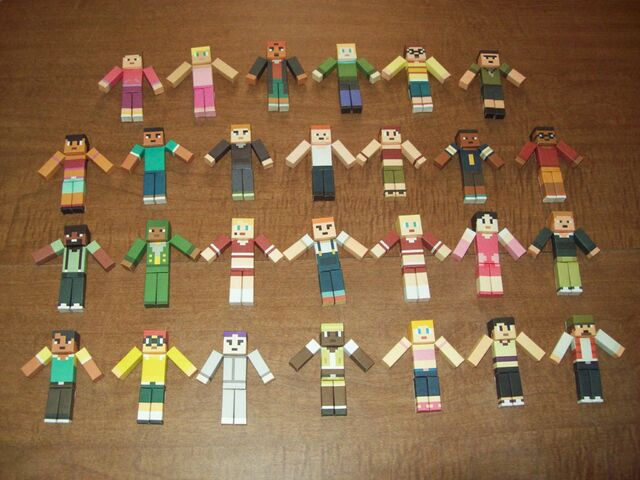 File:Total Drama MC Papercrafts 2nd and 3rd Gen.JPG