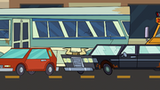 AIV - Lame-o-sine in traffic