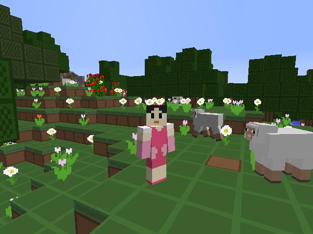 File:Ella in a Flower Field MC.png
