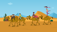On the camels