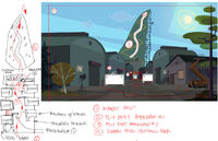 Total Drama Action theme song storyboard (2)