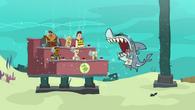 Truth or laser shark
