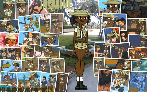 Total drama pix wallpaper jasmine by quickdrawdynophooey-d8ix4f9